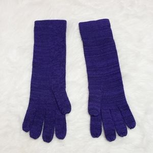 Fraas purple long winter gloves